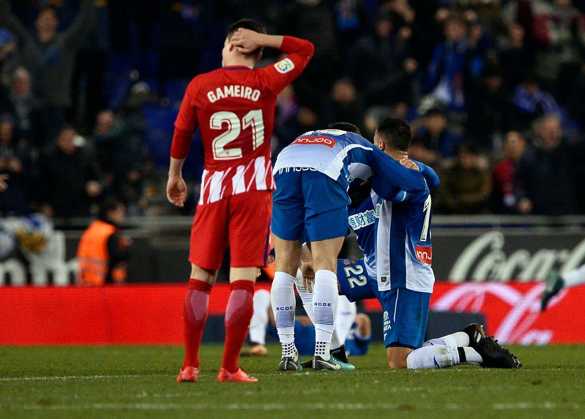 Sergio García y el Espanyol quitan el invicto al Atlético de Madrid en Liga