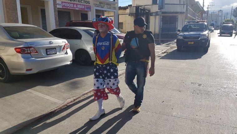 Fredy Antonio Asencio Linares fue capturado por venta de droga al menudeo, en Jalapa. (Foto Prensa Libre: Hugo Oliva)