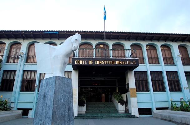 Los magistrados de la nueva Corte de Constitucionalidad tomarán posesión en abril. (Foto Prensa Libre: Hemeroteca PL)