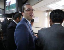 Felipe Alejos, vicepresidente del Congreso señalado por el caso Traficantes de Influencias. (Foto Prensa Libre: Hemeroteca PL)