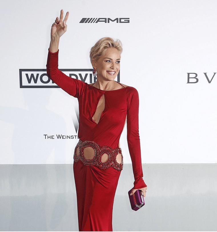 Sharon Stone lleva cuatro décadas filmando casi una película al año. (Prensa Libre: EFE)