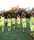 Chiantla, subcampeón del Apertura 2017, empieza a complicar su panorama en la Primera División por la reducción de seis puntos. (Foto Prensa Libre: Hemeroteca)