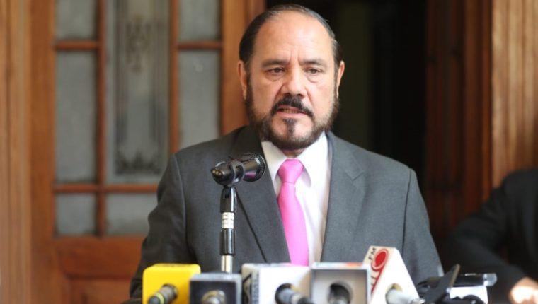 Leopoldo Guerra, encargado del Registro de Ciudadanos el Tribunal Supremo Electoral. (Foto Prensa Libre: Óscar Rivas)
