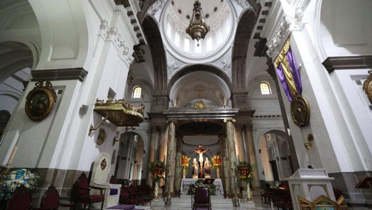 El proceso para elegir a arzobispo está en marcha y aún no hay reemplazo de Óscar Vian. (Foto Prensa Libre: Hemeroteca PL)