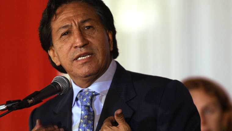 Alejandro Toledo, expresidente de Perú. (Foto Prensa Libre: AFP).