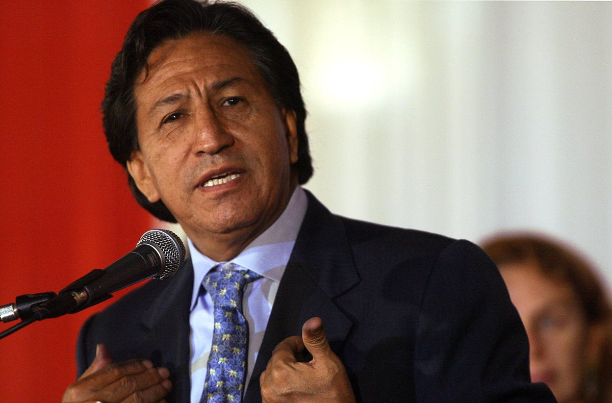 Alejandro Toledo, expresidente de Perú, es detenido en EE. UU. con fines de extradición