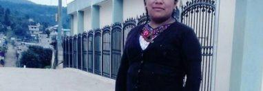 El cuerpo sin vida de de Juana Raymundo, lideresa campesina de Quiché, fue localizado a finales de julio de 2018. (Foto Prensa Libre: Hemeroteca PL)