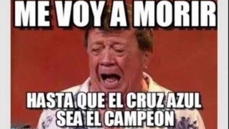 Un nuevo fracaso del Cruz Azul provocó una ola de memes. (Foto Prensa Libre: Redes)