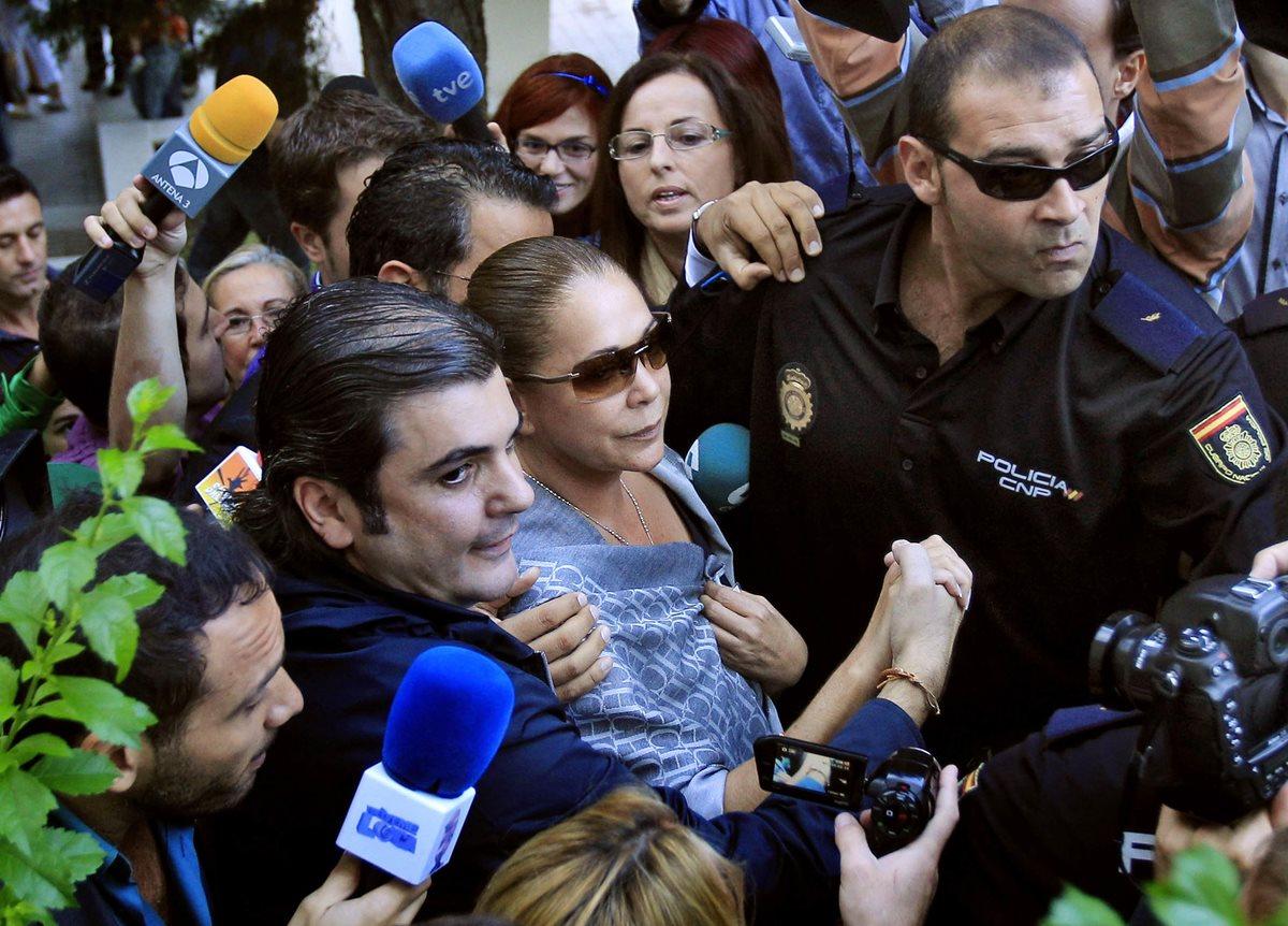 Isabel Pantoja sale de prisión con permiso de cuatro días