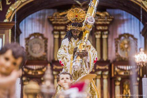 Jesús Nazareno de Candelaria celebra 100 años de consagración con una procesión extraordinaria. (Foto Prensa Libre: Facebook Cristo Rey Candelaria)