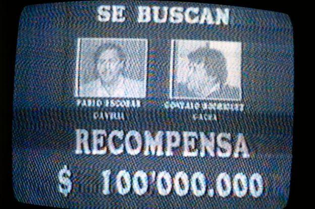 """Por """"el Mexicano"""" y por Escobar se ofrecieron recompensas millonarias en Colombia. GETTY IMAGES"""