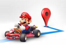 Los creadores de Mario Bros se aliaron con Google para celebrar el día MAR1O, poniendo al personaje a bordo de su 'go-kart' en la aplicación de GPS Maps.