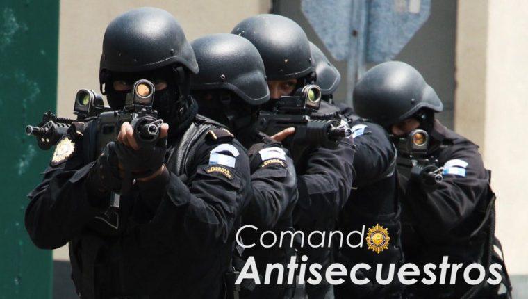 Comando antisecuestros de la Policía Nacional Civil liberó a dos personas en San Marcos. (Foto Prensa Libre: PNC)