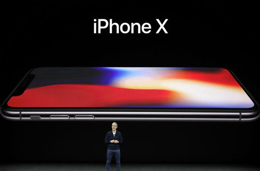 Apple presenta el iPhone X, sin marcos en la pantalla ni botón de inicio