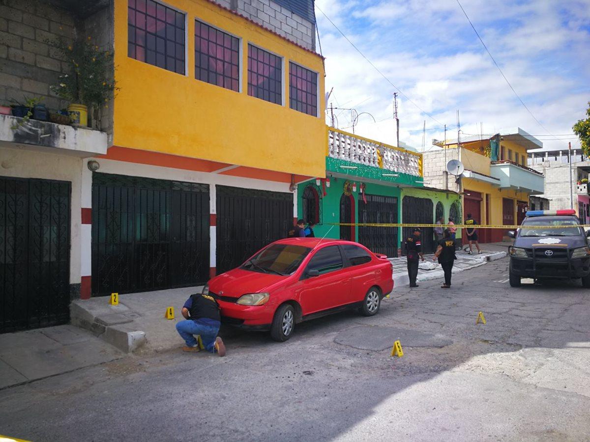 Niña muere por ataque armado en El Búcaro; mujer y bebé resultan heridos