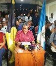 El comité ad hoc de los profesionales de la Salud Pública anunciaron una marcha pacífica para este viernes 7 de septiembre, que también se efectuará en Petén. (Foto Prensa Libre: Ana Lucía Ola)