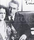 Enrique Gómez Carrillo y la salvadoreña Consuelo Suncín. (Foto: Hemeroteca PL)