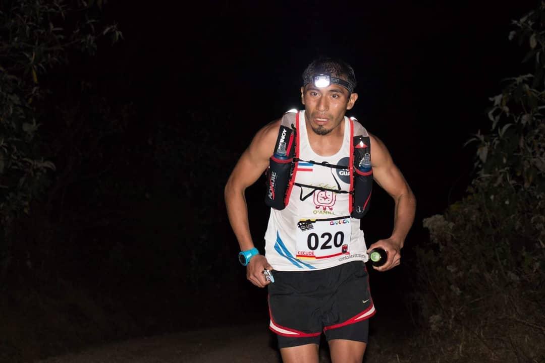 Erick Ajtun se ha destacado en las carreras de Trail que demandan una alta exigencia de preparación. (Foto Prensa Libre: Cortesía)