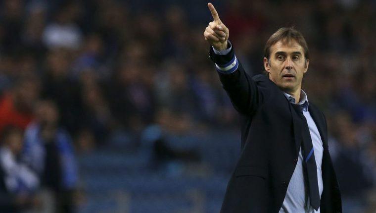 El técnico español Julen Lopetegui sustituye en el puesto a Vicente Del Bosque al mando de la selección de España. (Foto Prensa Libre: Hemeroteca)
