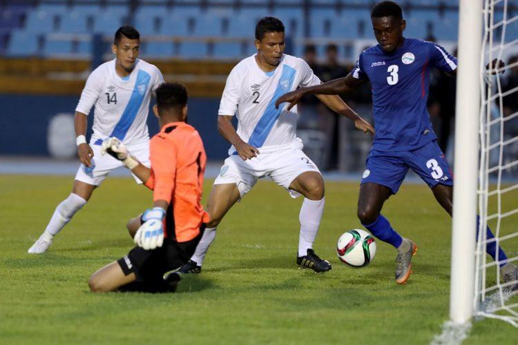 La Selección cubana volverá a enfrentar a Guatemala el próximo sábado. (Foto Prensa Libre: Carlos Vicente).