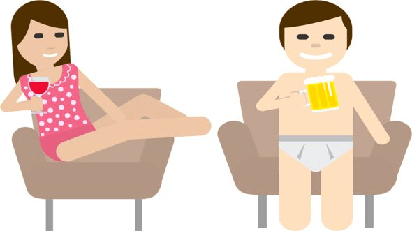 Los finlandeses han creado su propio emoji para representar esta arraigada costumbre. GOBIERNO DE FINLANDIA