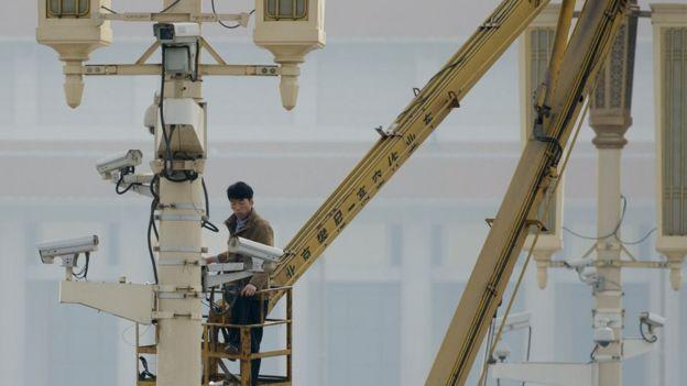 En China ya hay instaladas 170 millones de cámaras. GETTY IMAGES