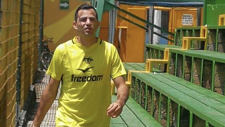 Marco Pablo Pappa buscará aportar para que Petapa salga del último lugar del Apertura 2018. (Foto Prensa Libre: Edwin Fajardo)
