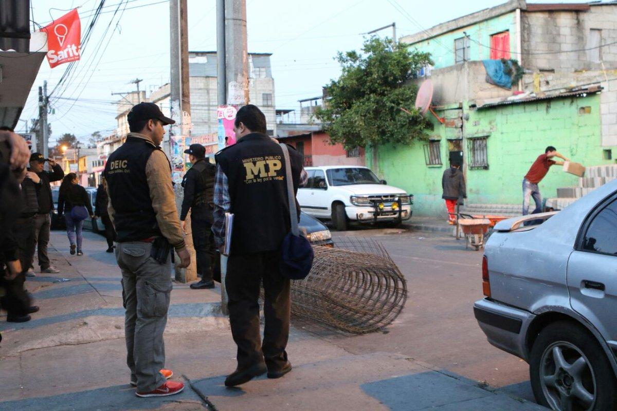 El MP confirmó que buscaban a una estructura de imitadores que, haciendo creer que eran pandilleros, extorsionaban a empresas y comercios. (Foto Prensa Libre: MP)