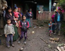 La familia del niño guatemalteco Felipe Gómez Alonzo, quien murió en territorio estadounidense luego de migrar junto on su padre, vive en condiciones precarias una comunidad de Nentón, Huehuetenango. (Foto Prensa Libre: Hemeroteca PL)