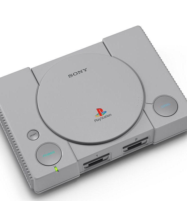 La consola PlayStation Classic es una versión miniatura de la primera consola de Sony, que fue lanzada en 1995. (Foto Prensa Libre: Sony)