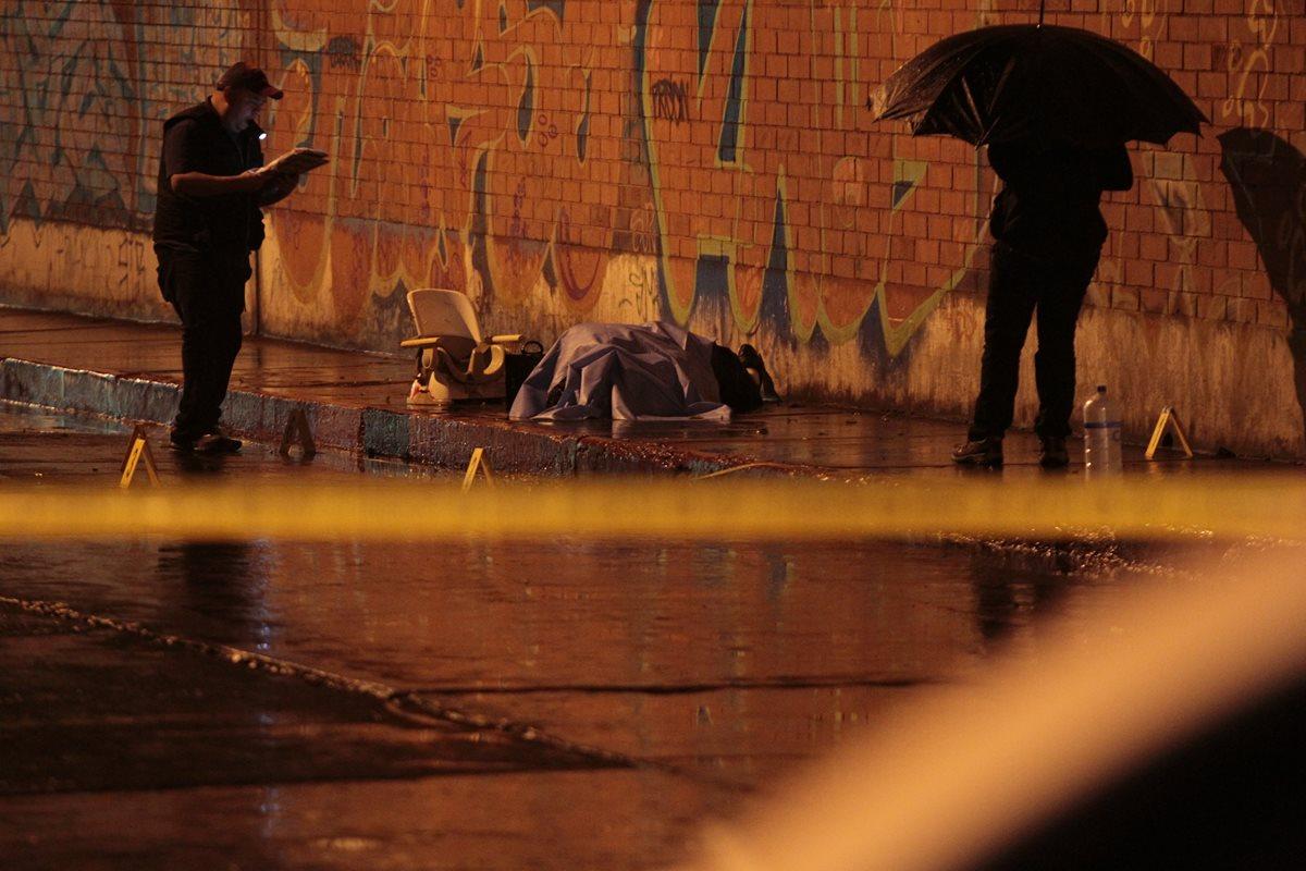 Un agente de PNC participó en ataque armado que dejó dos muertos en zona 1