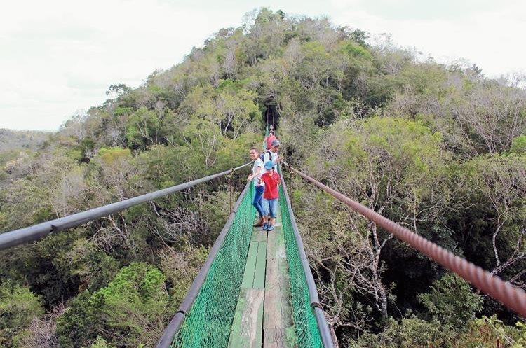 El país ofrece turismo de aventura en diferentes regiones. (Foto Prensa Libre: Hemeroteca PL)