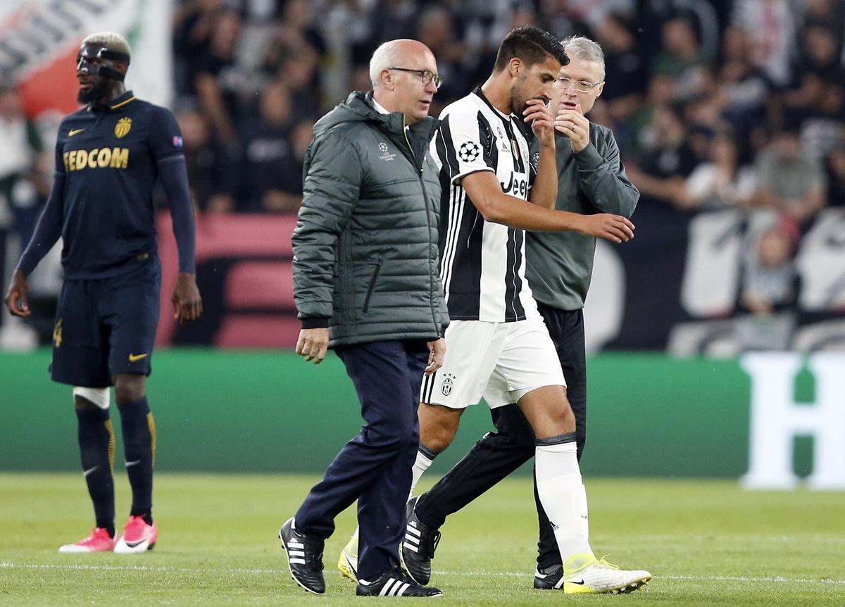 Khedira dice que su lesión no es grave y que jugará la final contra el Madrid