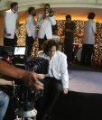 Parte del clip se grabó en el Club Guatemala, en la zona 1 capitalina. (Foto Prensa Libre: Ana Lucía Ola)