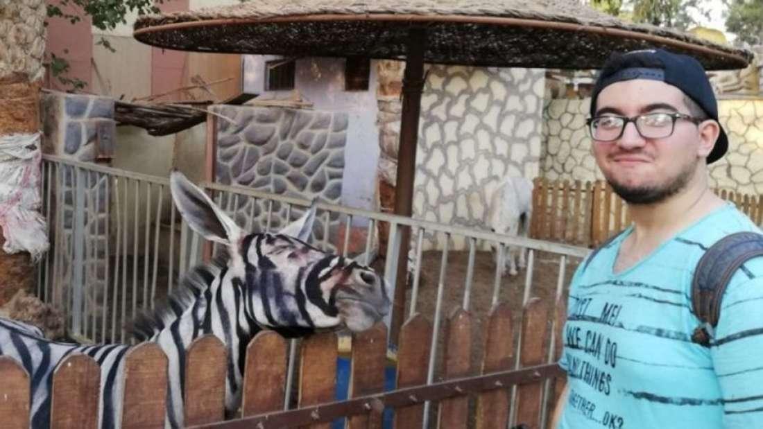 Mahmoud A. Sarhan tomó fotografías de los animales en un zoológico de El Cairo, Egipto, que se volvieron virales. (Foto Prensa Libre: Facebook Mahmoud A. Sarhan)