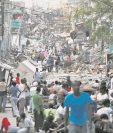 Escombros en una calle de Puerto Príncipe Haití muestra la magnitud del terremoto ocurrido el 12/1/2010. (Foto: The New York Times)