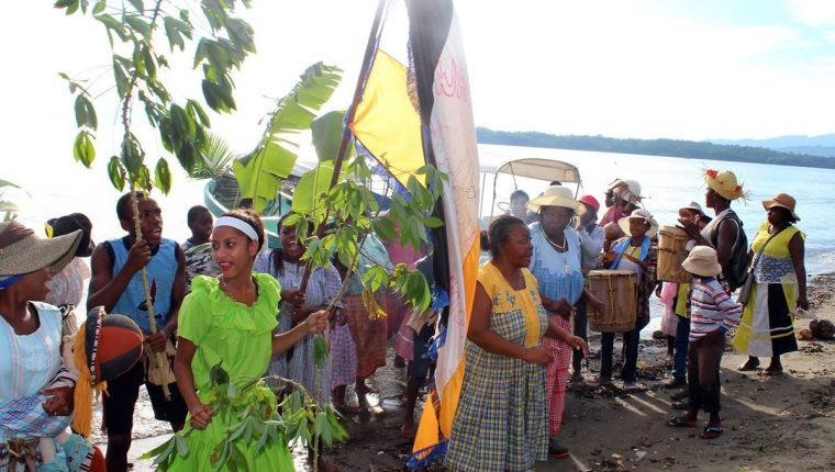 El pueblo garífuna llegó al caribe guatemalteco en 1802. (Foto Prensa Libre: Dony Stewart)