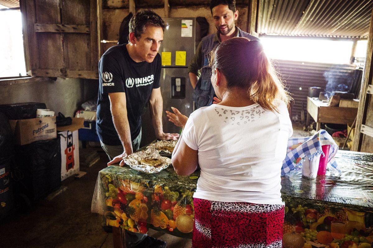 Así fue la visita de Ben Stiller a Guatemala