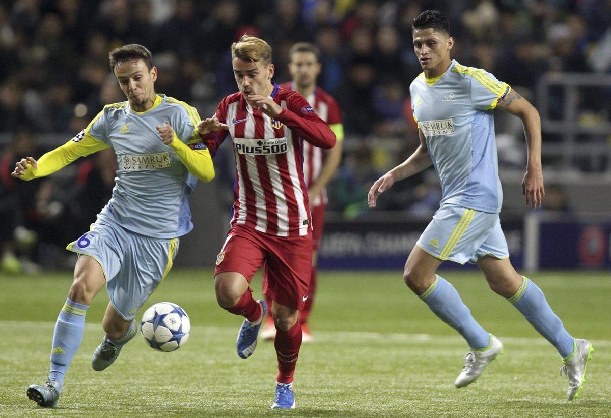 El Atlético no pasa del empate en el terreno del Astana
