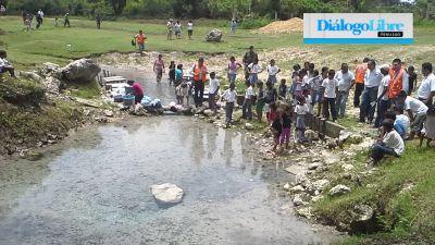La contaminación del río La Pasión ha causado mortandad de peces ( Foto Prensa Libre: Hemeroteca PL)