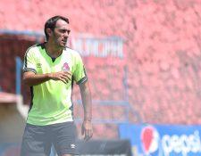 El mediocampista Gastón Puerari ha marcado 24 goles. (Foto Prensa Libre: Francisco Sánchez)
