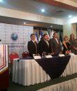 Rectores de universidades de Centroamérica se reunen en Guatemala. (Foto Prensa Libre: Vicepresidencia)