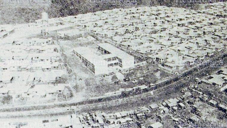 Vista aérea de la colonia Primero de Julio. (Foto: Hemeroteca PL)