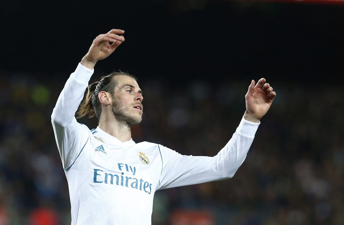 El delantero Gareth Bale participó de una broma en el Museo de Cera de Madrid. (Foto Prensa Libre: EFE)