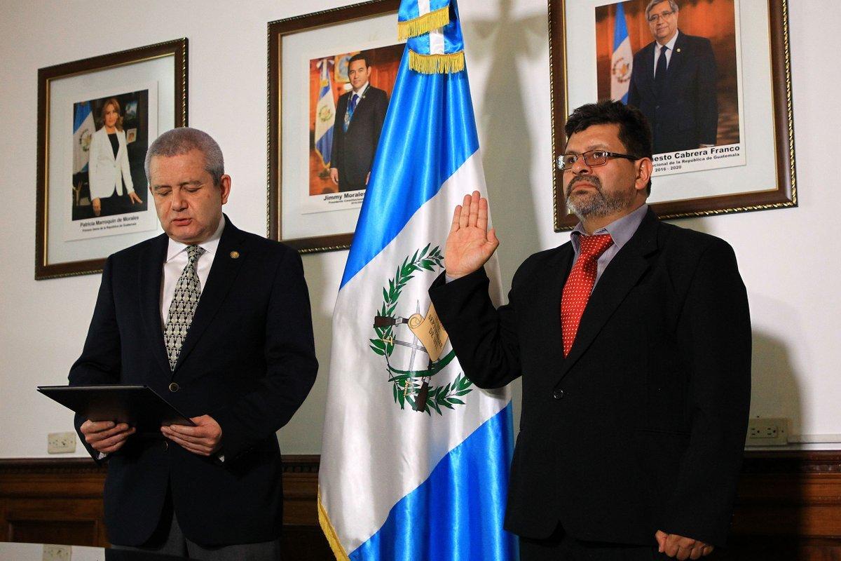Nombran a nuevo gobernador de Alta Verapaz