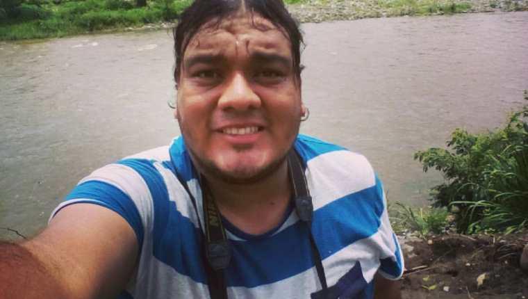 El periodista Laurent Ángel Castillo Cifuentes era corresponsal de Nuestro Diario, en Coatepeque, Quetzaltenango. (Foto tomada de Facebook)