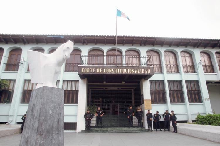 Corte de Constitucionalidad. (Foto: Hemeroteca PL)