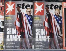Fotomontaje publicado por revista alemana causa revuelo. (Foto Prensa Libre: EFE)