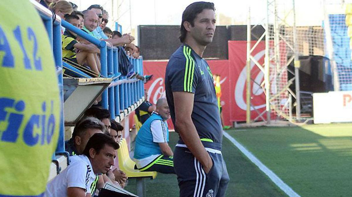 Santiago Solari dirigió al Real Madrid Castilla desde 2016. (Foto Prensa Libre: Real Madrid)