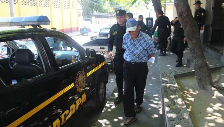 Máximo Molina es señalado de haber agredido a un hombre en Zacapa. (Foto Prensa Libre: Mario Morales).